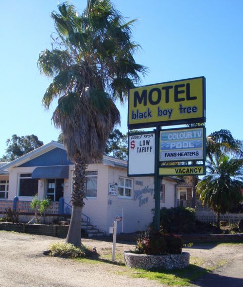 Blackboy Tree Motel - Accommodation Cairns