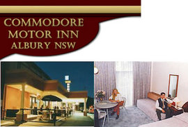 Commodore Motor Inn - Accommodation Cairns