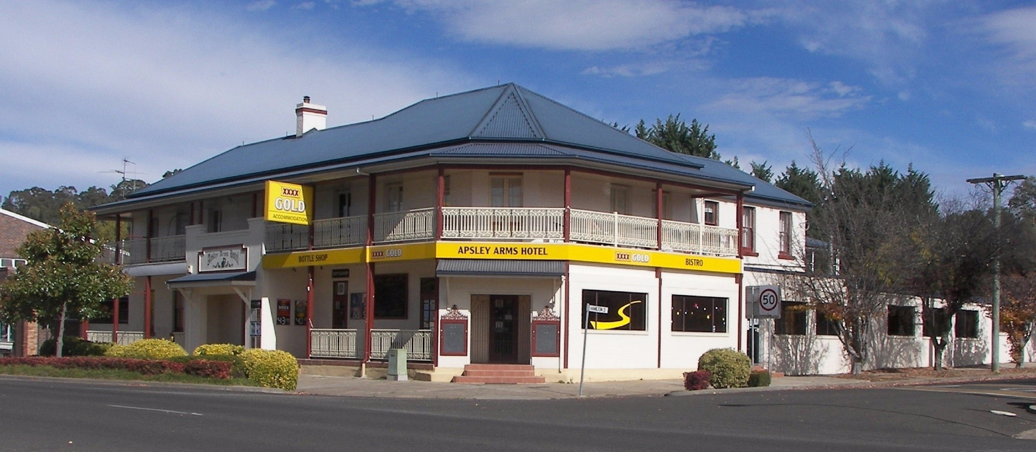 Apsley Arms Hotel - Accommodation Cairns