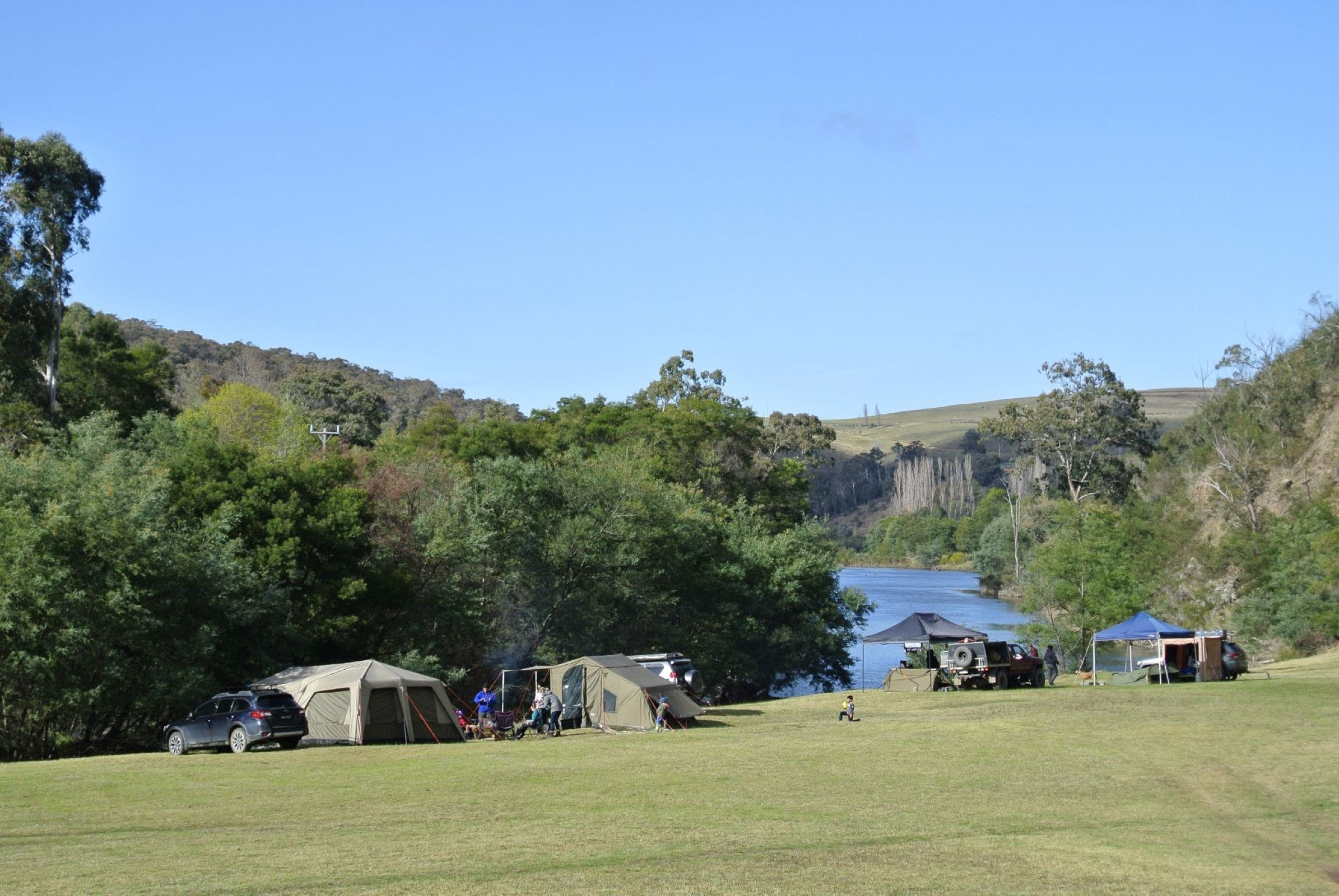 Montana on the Macalister Campground  Caravan Park - Accommodation Cairns
