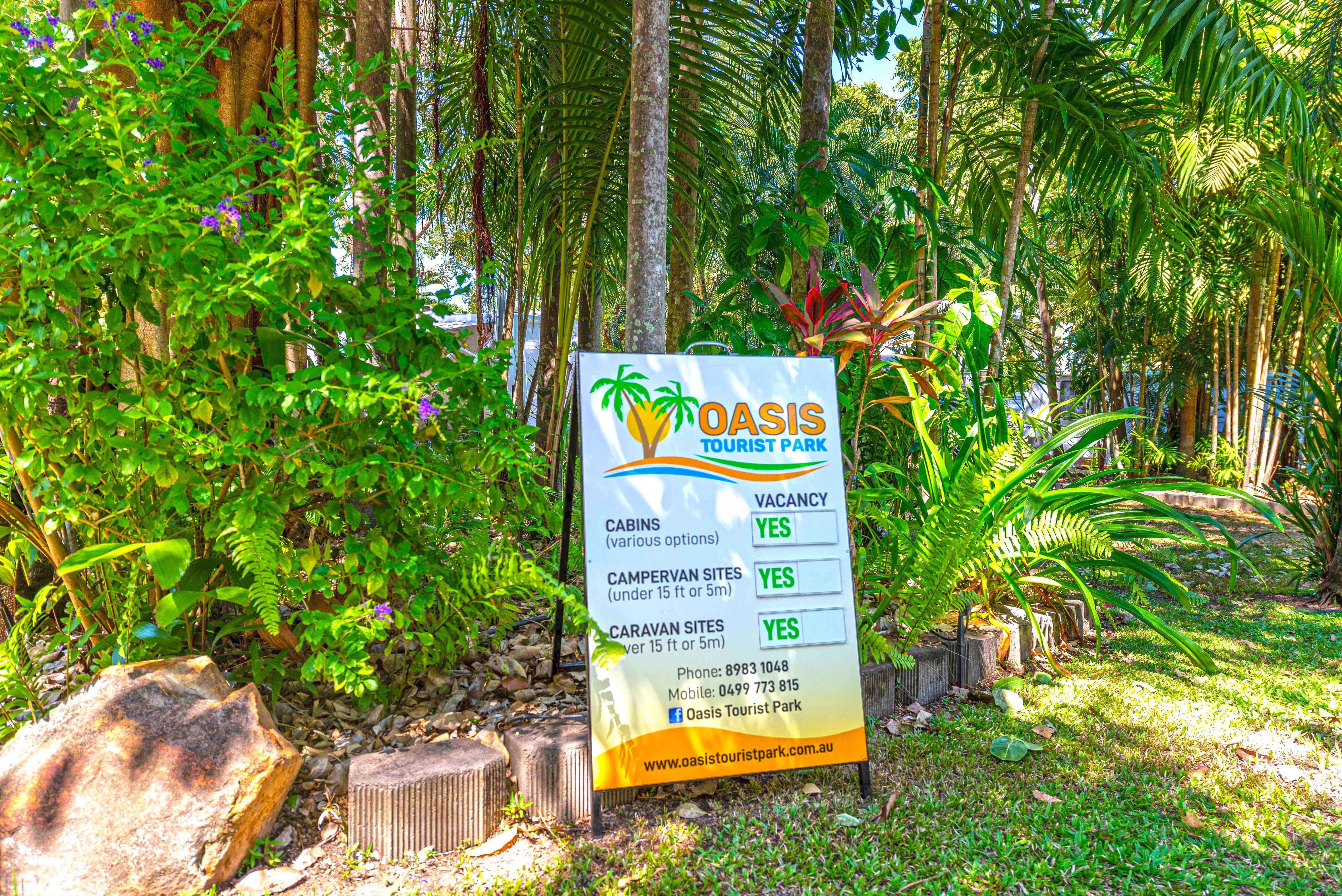Oasis Tourist Park - Accommodation Cairns