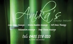 Anikas Massage Therapy - Accommodation Cairns