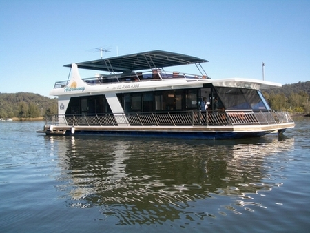 Able Hawkesbury River Houseboats - Accommodation Cairns