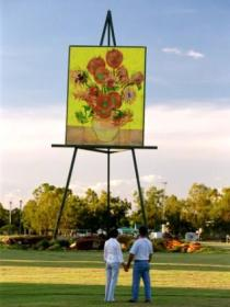 Van Gogh Sunflower Painting - Accommodation Cairns