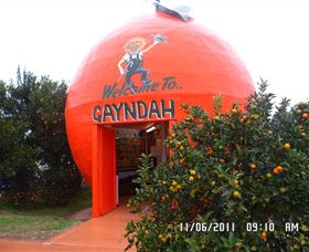 Gayndahs Big Orange - Accommodation Cairns