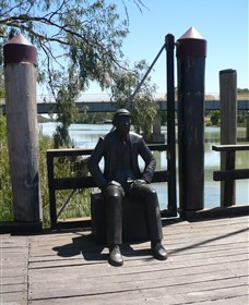 Captain John Egge Statue - Accommodation Cairns