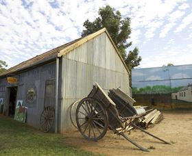 The Ned Kelly Blacksmith Shop - Accommodation Cairns