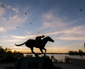 Black Caviar Statue - Accommodation Cairns