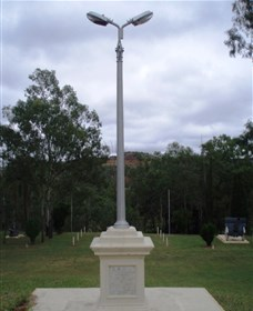 The Coronation Lamp Memorial - Accommodation Cairns