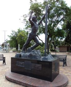 Miners Memorial Statue - Accommodation Cairns