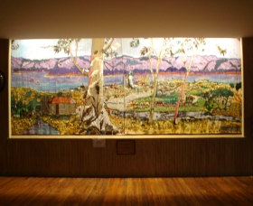 Adaminaby Memorial Hall Stage Curtain - Accommodation Cairns