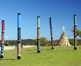 Maclean Tartan Power Poles - Accommodation Cairns