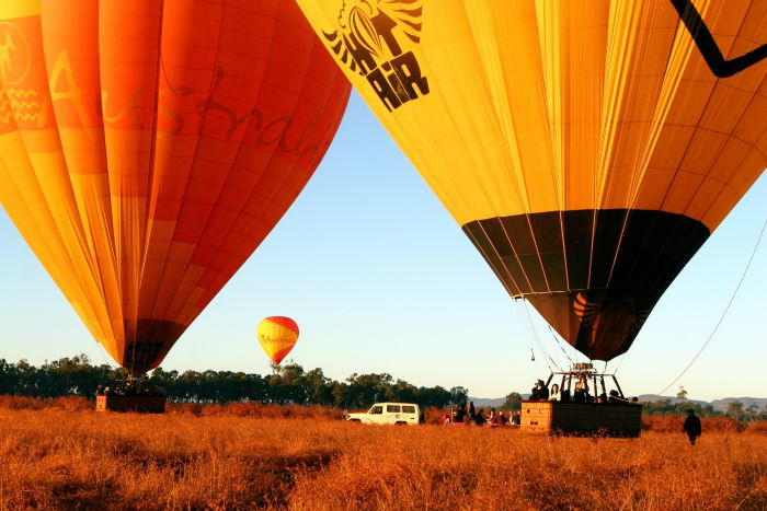 Hot Air Balloon Scenic Rim - Accommodation Cairns
