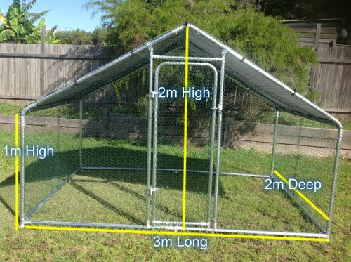 Maryriver Cages For Chickens Dogs Poultry - Accommodation Cairns