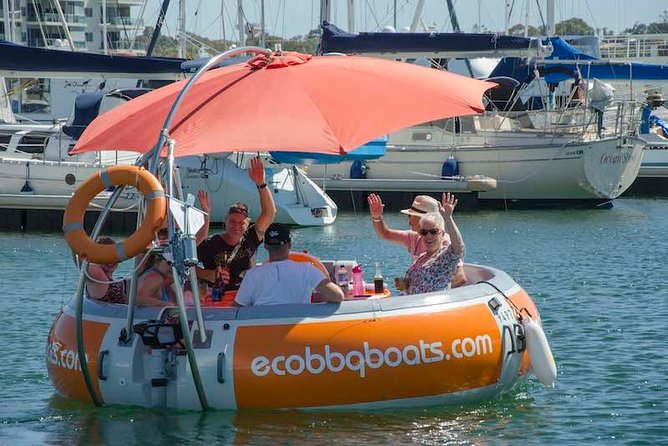 Self-Drive BBQ Boat Hire Mandurah - Group of 7 - 10 people - Accommodation Cairns