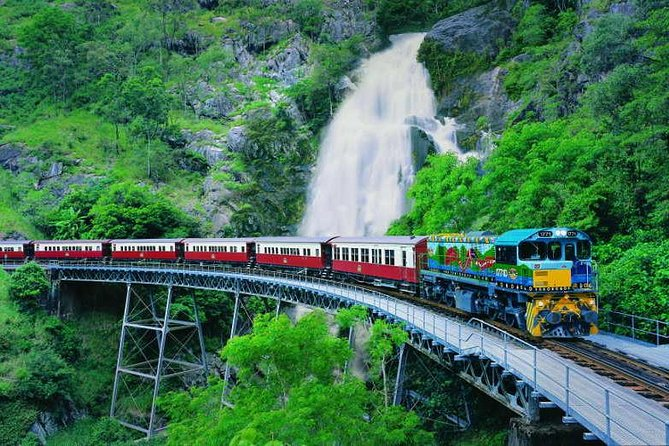 Full-Day Tour with Kuranda Scenic Railway Skyrail Rainforest Cableway and Hartley's Crocodile Adventures from Cairns - Accommodation Cairns