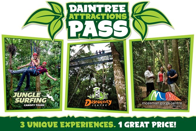 Daintree Atttractions Pass The Best of the Daintree in a Day - Accommodation Cairns