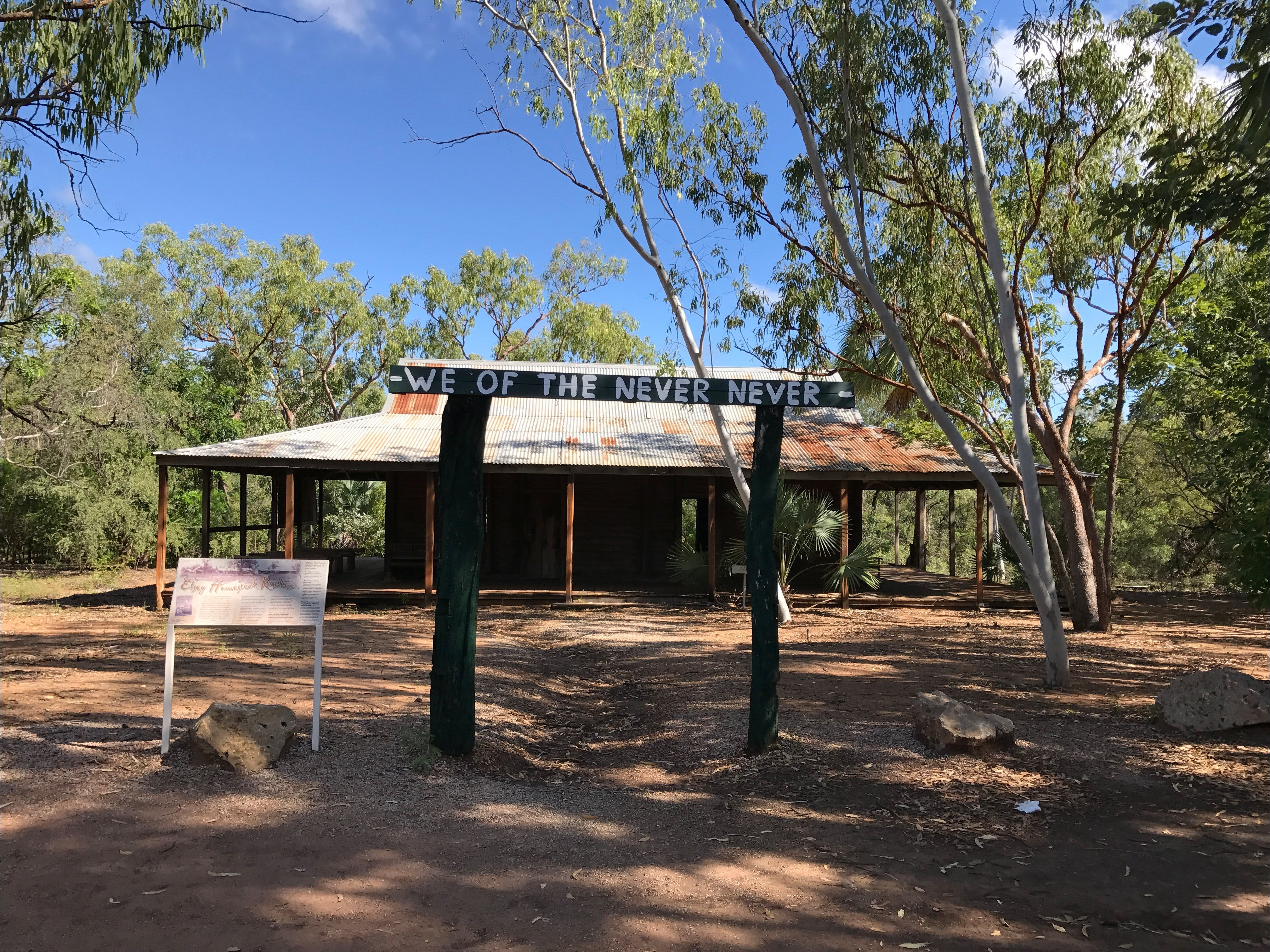 Elsey Homestead Replica - Accommodation Cairns