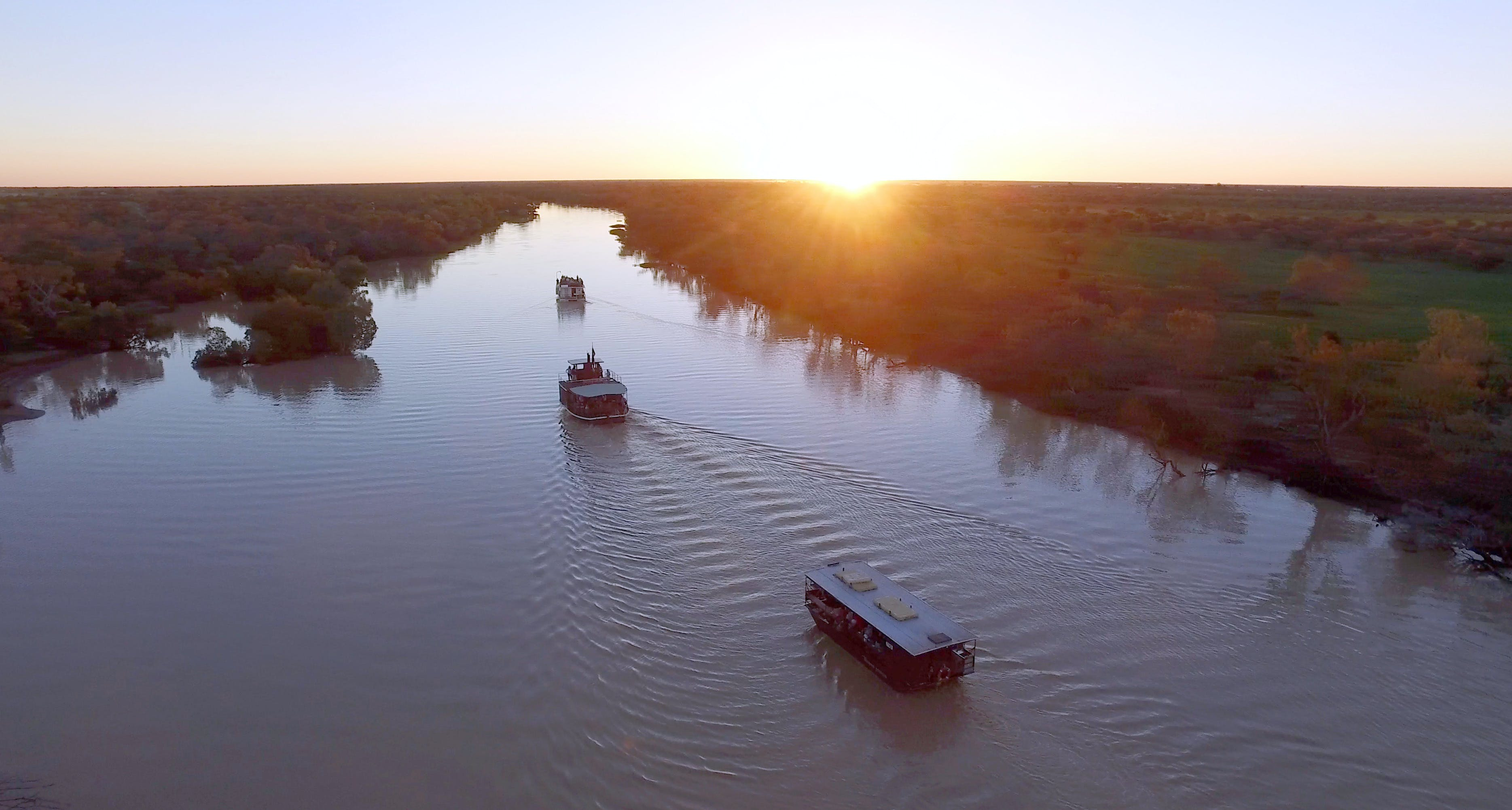 Thomson River Longreach - Accommodation Cairns