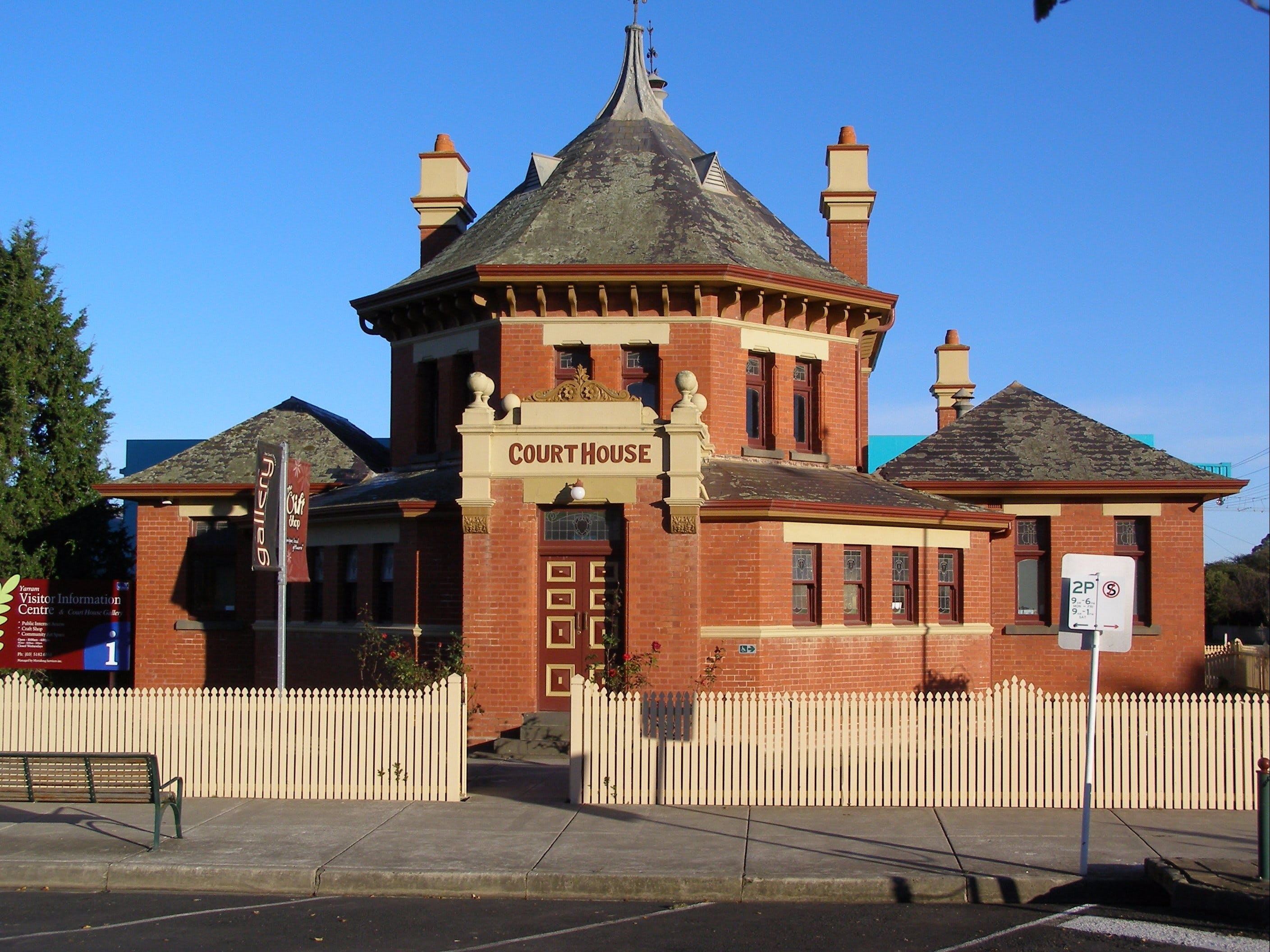 Yarram Courthouse Gallery - Accommodation Cairns