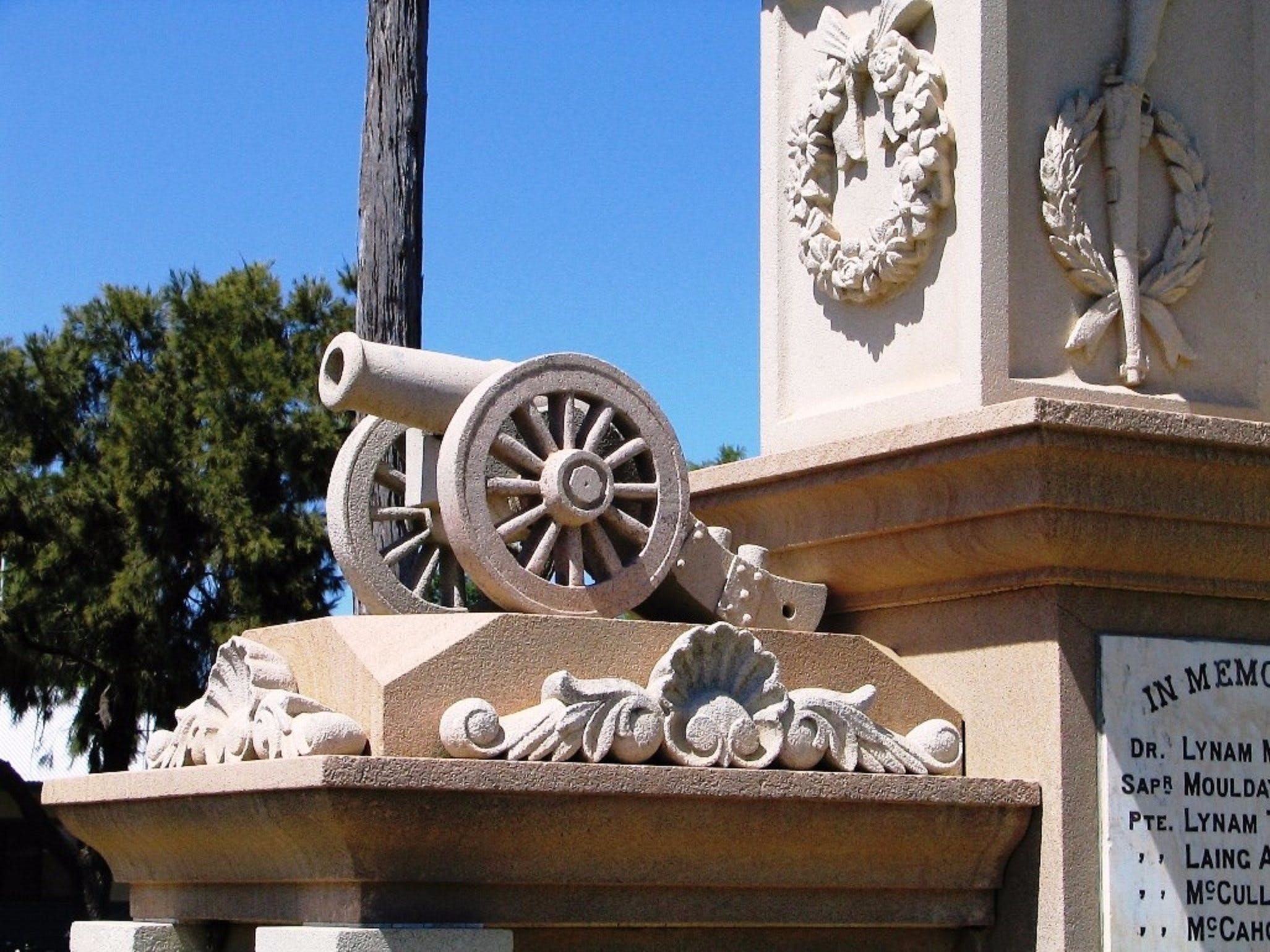 Boer War Memorial and Park Allora - Accommodation Cairns