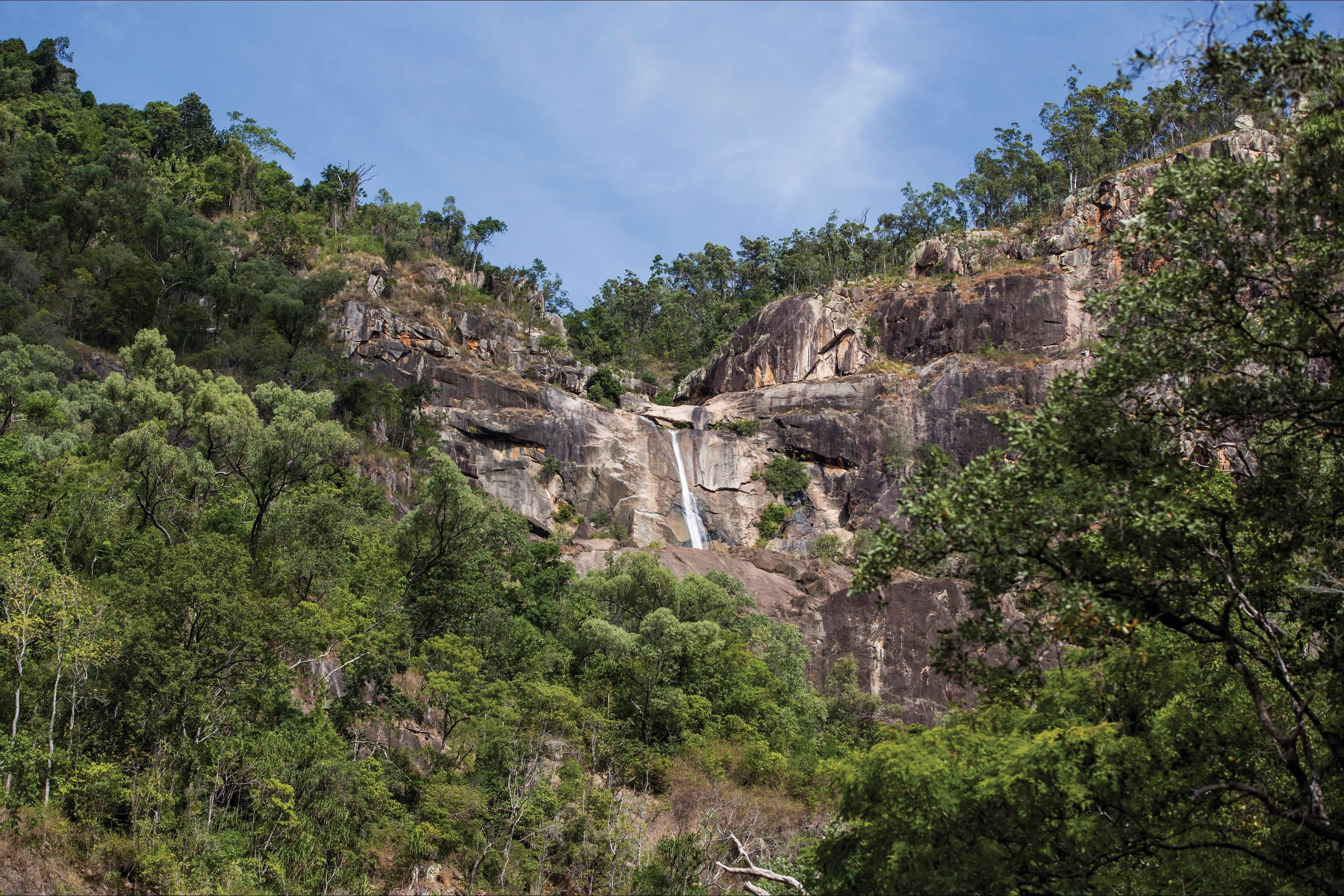 Jourama Falls Paluma Range National Park - Accommodation Cairns