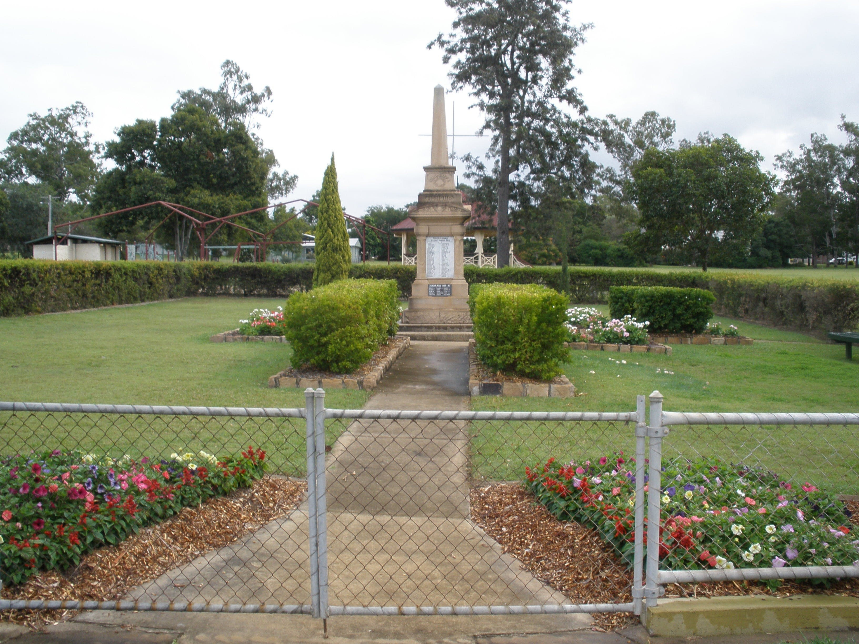 McConnell Park and Toogoolawah War Memorial - Accommodation Cairns