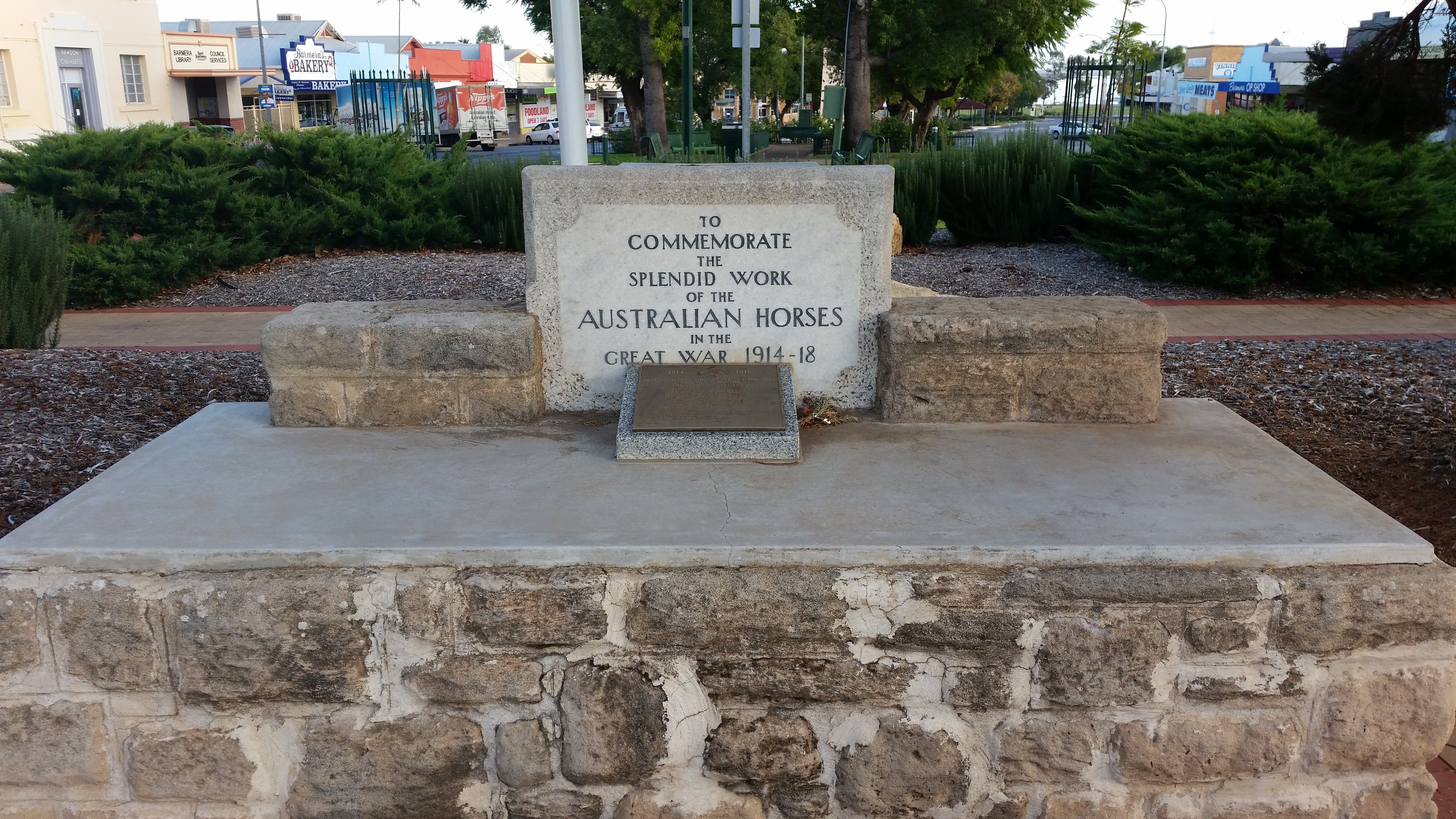 Barmera Horse Trough - Accommodation Cairns