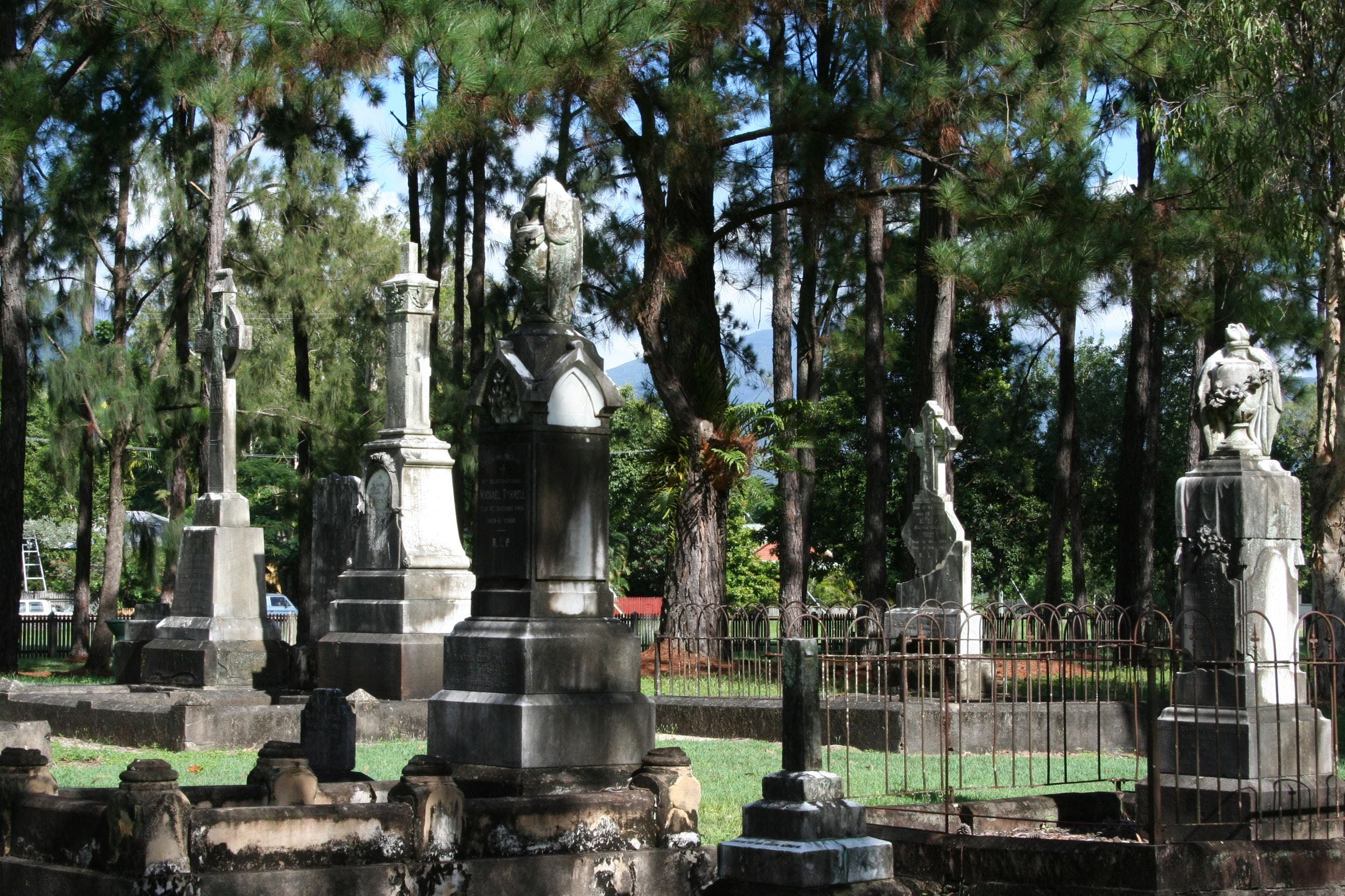 McLeod Street Pioneer Cemetery Cairns - Accommodation Cairns