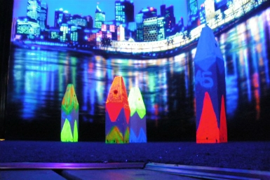 Family Fun Centres Black Light Mini Golf - Accommodation Cairns