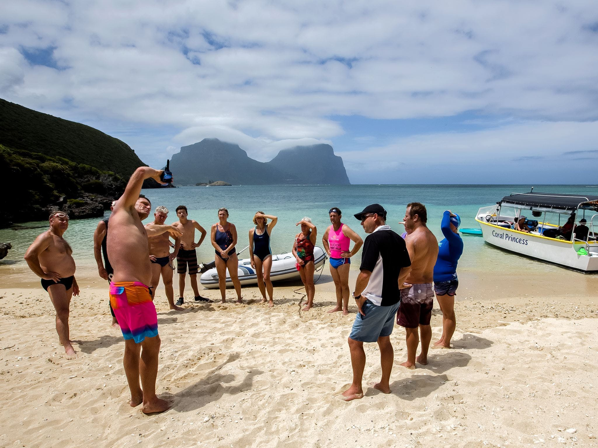 Ocean Swim Week with Trevor Hendy Pinetrees Lord Howe Island - Accommodation Cairns