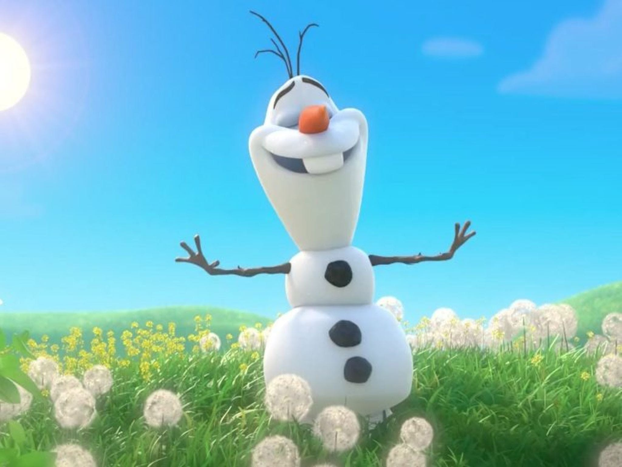 Meet Olaf from Frozen - Accommodation Cairns