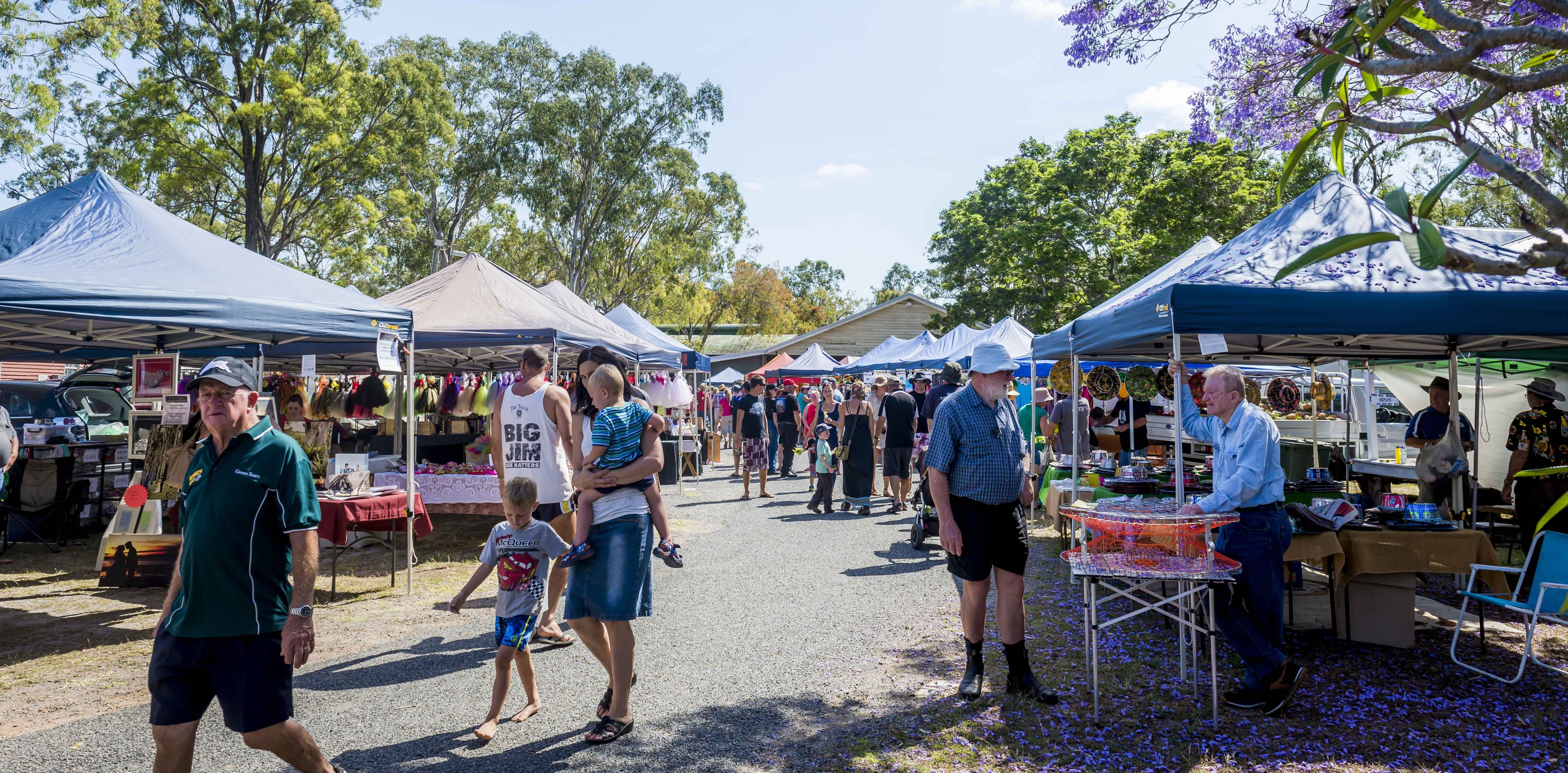 Calliope Historical Village Markets - Accommodation Cairns