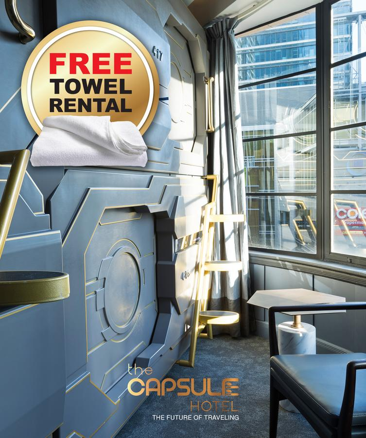 The Capsule Hotel - Accommodation Cairns